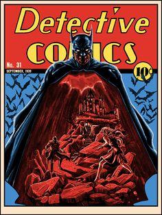 Detective Comics #31 by Tim Doyle