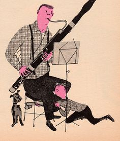 What Makes an Orchestra - written & illustrated by Jan Balet (1965).
