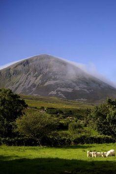 Croagh Patrick, near the town of Westport, County Mayo, Ireland