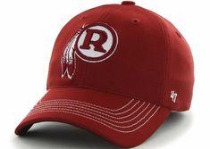 fbdfd4de86c34 Washington Redskins 47 Brand Game Time Throwback Red Stretch Fit Hat