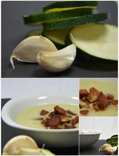 Zucchini-Creme-Suppe #rezept #recipe #kochen #backen #idee #essen #trend #filizity #kuchen #torte #salat #tafel