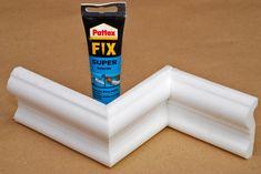 Ako rezať polystyrénové lišty aby sadli na chlp?