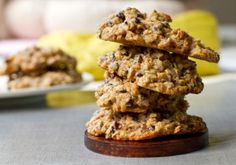 3 Healthy Mouthwatering Cookie Recipes - oatmeal chocolate cookies