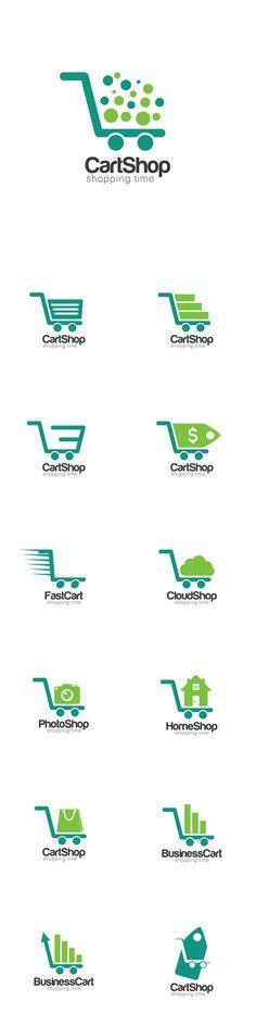 Vectors - Cart Creative Concept Logo Design Template