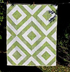 HST Quilt-love the simplicity and the color!