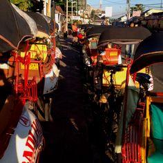 Take me home, Becak! Yogyakarta