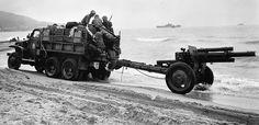US 105mm, Algeria 1943