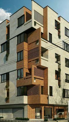 Architecture Building Design, Brick Architecture, Baroque Architecture, Residential Architecture, Building Facade, Architecture Details, Pavilion Architecture, Japanese Architecture, Sustainable Architecture