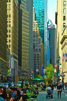 NYC. Broadway at Herald Square 35th Street.