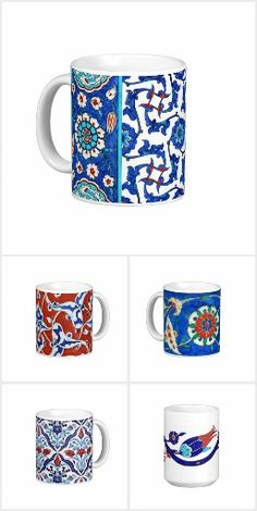 Turkish tiles - mugs collection