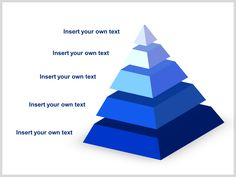 Pyramid Diagram Templates  Products And Template