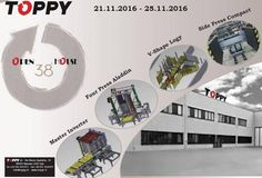 Turning your world is our job!  #Toppy #turningyourworld #palletchanger #rollturner #pileturner #pallet #conveyor #europallet #OpenHouse #followme #tagforlike #pictureoftheday #follow4follow #like