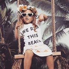 Surfari Kingdom range out now // We Run This Beach // kids tees Beach Kids, Summer Kids, Beach Shirts, Cute Shirts, Kids Swimming, Kids Prints, Poses, Beach Trip, Cute Kids