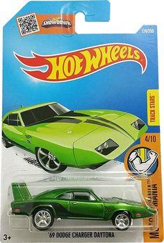 '69 Dodge Charger Daytona Hot Wheels 2016 Super Treasure Hunt - HWtreasure.com