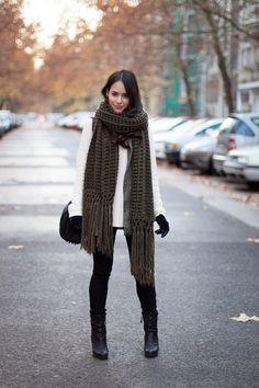 extra chunky scarf