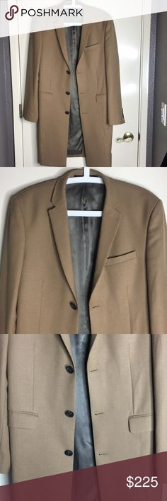 Trustful New Mango Man Tailored Slim Fit Dark Grey Trouser 100% Wool Formal Pants 30w 30l Men's Clothing