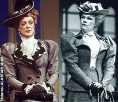 Maggie Smith and Judi Dench as Lady Bracknell. Can you imagine these two together in a play? Well, David Hare once wrote one especially for them...