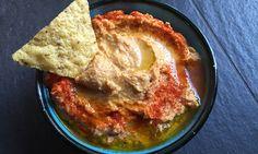 Zoete aardappel hummus 1 - Karlijnskitchen.com