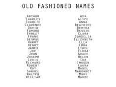 vintage writing names writing resources character building writing reference character names old fashioned names Book Writing Tips, Writing Words, Writing Prompts, Writing Help, Writing Ideas, Writing Resources, Cute Names, Unique Baby Names, Old Names