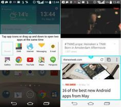 How To Use Dual Window - LG G3. #LG #LGG3