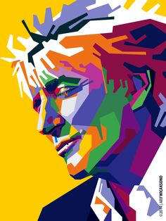 Cool Sir Rod Poster Color T shirts Pop Art Portraits, Portrait Art, Rock Posters, Concert Posters, Pop Rock, Face Art, Music Artists, Bunt, Modern Art