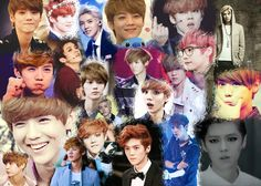 Luhan Collage Made By: Cheyenne Foster