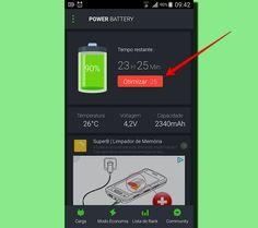 Primeiro passo depois de instalar o app é escolher o recurso de otimização (Foto: Reprodução/Filipe Garrett)