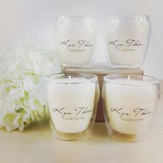 New! 100ml Coconut Flower Scented Candles