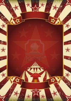 A new background  vintage, textured  on circus theme  Enjoy