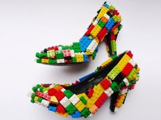 lego high heels- these are simply awesome. How cool would it be to wear these around Javits during Toy Fair. If only it wouldn't kill your feet!