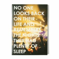 No One Looks Back Wall Canvas #ICINGism