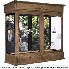 the indoor bird cage i'd like from cages by design