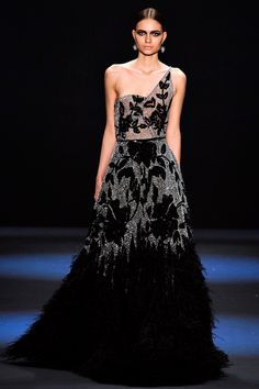 black evening gown!