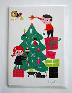 Ingela Peterson Arrhenius christmas card
