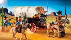 Playmobil toys with horse and western themes. Horse stables and horse farm playsets, western town and fort. Horse show play set, truck and trailer, rodeo cowgirl set that will fit with other Playmobil horse sets. Play Mobile, Adventure Gear, Family Adventure, Horse Stables, Horse Farms, Mustang, Wagon Trails, Playmobil Sets, Knights Templar