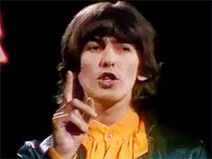 George Harrison on The Smothers Brothers Show November 1968 John Lennon Beatles, The Beatles, Beatles Funny, George Harrison, Great Bands, Cool Bands, Bug Boy, British Boys, The Fab Four