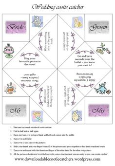 paper fortune teller template site... These are great for teachers! There's even blank ones!!