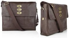 c18ea0f81136 Mulberry Brynmore in Dark Brown Large Messenger Bags