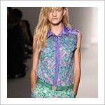 Voorjaarsmode 2012: bloemenprints en bloemenfantasietjes voor jurken, rokken en bloezen - Trendystyle, de trendy vrouwensite