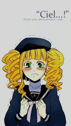 Ok can we take a min to think that lizzy had to go and see ciel dead.i mean her future husband was dead.