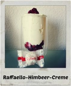 Raffaello-Himbeer-Creme