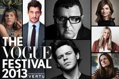 Vogue Festival 2013 Line-Up News - Alber Elbaz & Christopher Kane