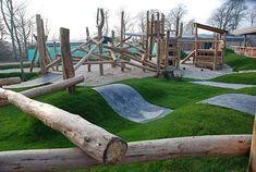 Reggio Emilia natural playground