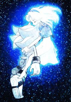 Eternal Wish by arina-ivanova-1999I like how a lot of Maria and Shadow art has them in floating in space, it's neat