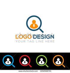 Job Search Company Logo Design Template Vector EPS File #logodesinger,#logo,#logos,#logomaker,#logo7,#logologo,#logotipo,#logotype,#logout,#logoinspiration,#logomark