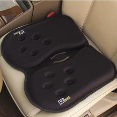 """The All Day Gel Seat cushion relieves point-of-contact pressure and helps reduce lower back pain inherent in long periods of sitting in a car or office chair.   1-1/2"""" H x 18"""" W x 16"""" D. (3-1/2 lbs.)"""