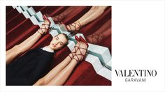 Michal Pudelka shoots Grace Hartzel, Harleth Kuusik, Ine Neefs & Maartje Verhoef for Valentino Pre-Fall 2015 Campaign. Styled by Karl Templer. Hair by Tomo Jidai. Make-up by Petros Petrohilos. Shoe Advertising, Fashion Advertising, Fashion Shoot, Editorial Fashion, Fashion Tape, Templer, Fashion Photography Inspiration, Photography Styles, Product Photography