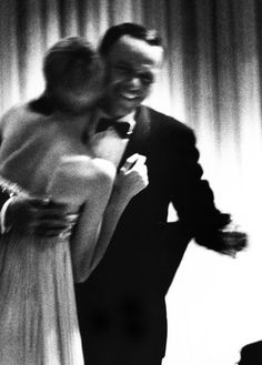 Frank Sinatra dances with wife Mia Farrow, c. 1967