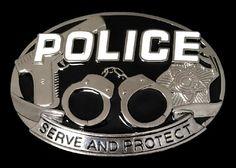 Police Belt Buckle Policeman Gun Handcuff Service Uniform Belts Buckle #police #serveandprotect #policebadge #policebeltbuckle #beltbuckle #buckles