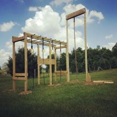 ^^Learn more about backyard playground. Click the link for more Viewing the website is worth your time. Backyard Jungle Gym, Backyard Fort, Backyard Obstacle Course, Kids Obstacle Course, Backyard For Kids, Diy Home Gym, Gym Room At Home, Indoor Outdoor, Outdoor Gym